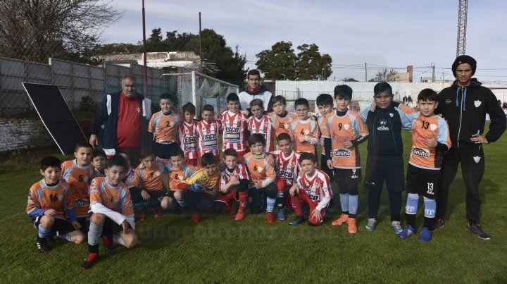 Los chicos de Atlético Paraná y Belgrano en categoría 2009 FotoUNOJuan Manuel Hernández