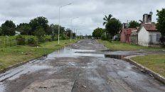 Asfalto. Las obras se hicieron en los barrios 12 de Octubre y Parque General San Martín.