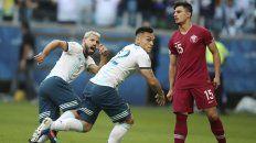 argentina derroto a qatar y avanzo a cuartos de final