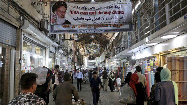 Vida diaria. En el gran bazar de Teherán