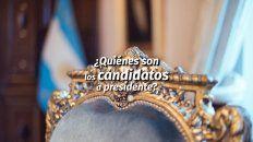 ¿quienes son los candidatos a presidente?