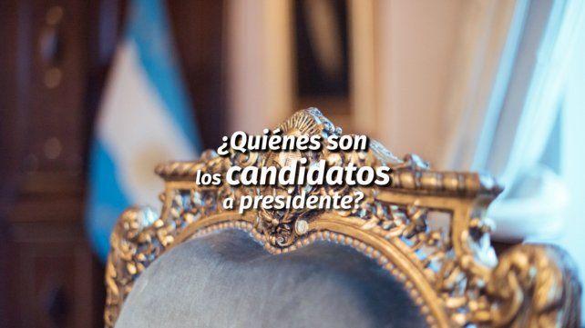 ¿Quiénes son los candidatos a Presidente?