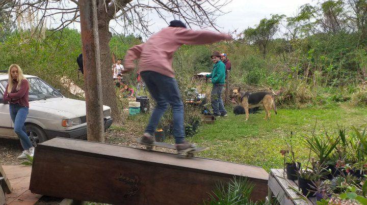 El festejo por el Día del Skate en Paraná.