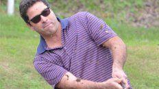 El golf y su actividad. Agustín Castiglioni en la foto.