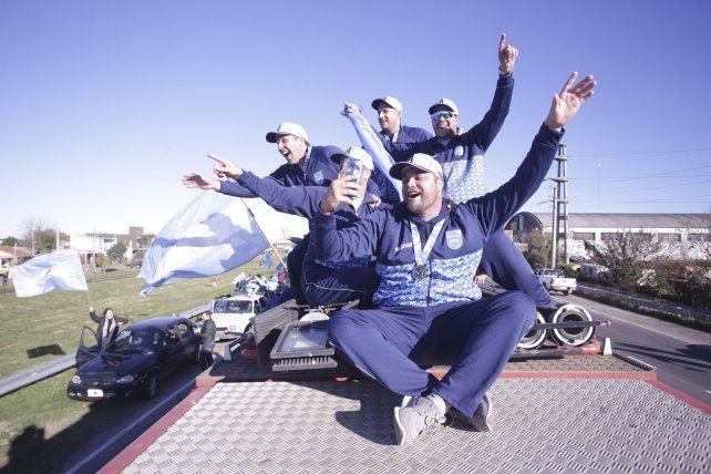 Imágenes del recibimiento histórico a los campeones