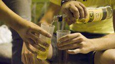alcohol, lo que mas consumen los jovenes