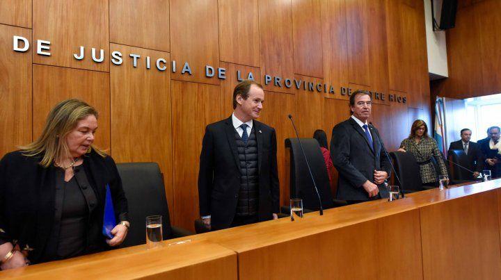 Bordet remitirá a la Legislatura el proyecto de ley de Juicio por Jurados