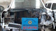 secuestran camioneta usada por acusados del homicidio de un policia