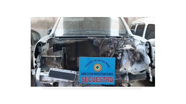 Secuestran camioneta usada por acusados del homicidio de un policía