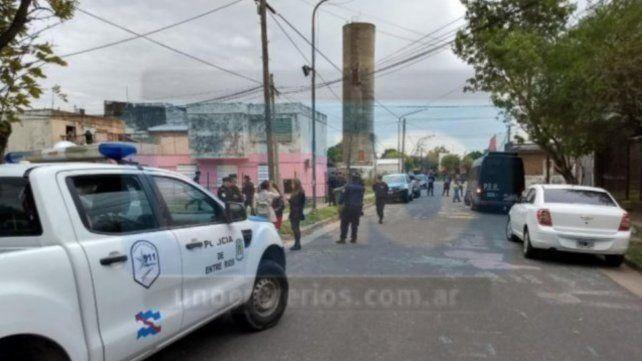Dos heridos en el tiroteo en el barrio Paraná V