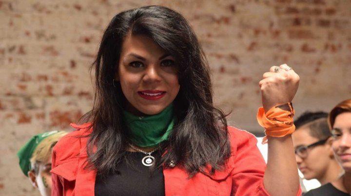 Keili fue candidata a diputada en Entre Ríos por el MST.
