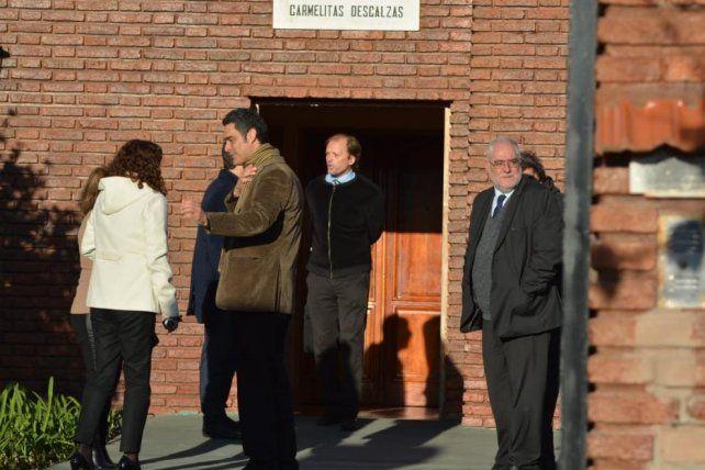 En la inspección ocular al convento se estableció el régimen de entradas y salidas