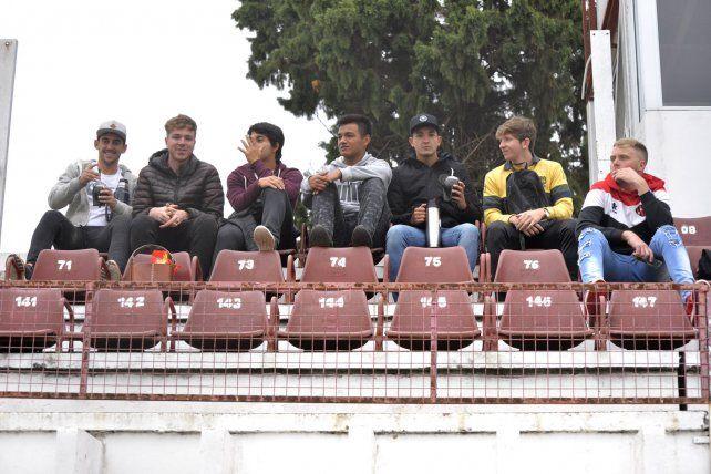 Los jugadores de las inferiores.