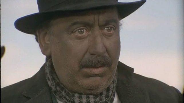 Osvaldo Terranova en La Patagonia rebelde.