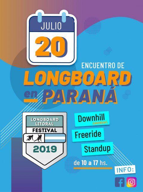 Confirmaron un encuentro de Longboard en Paraná