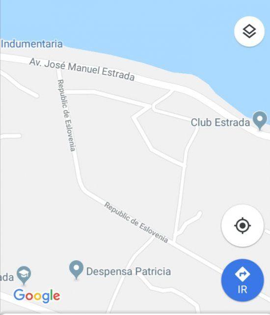 La ubicación.