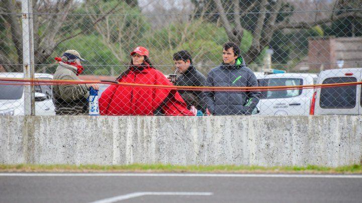 El poncho de Ferrari.