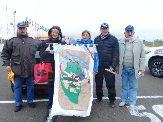 El Super TC 2000 homenajeó a los veteranos de Malvinas