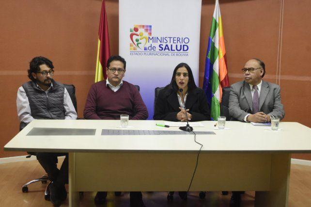 La Ministra de Saludexplicó que se discutieron medidas de bioseguridad y las medidas que se tomarán.