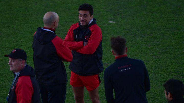 Bruno Uribarri sonriente a pesar de la temperatura.