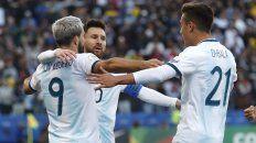 argentina se quedo con el tercer puesto en la copa america