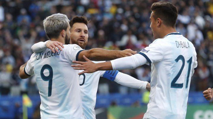 Argentina se quedó con el tercer puesto en la Copa América