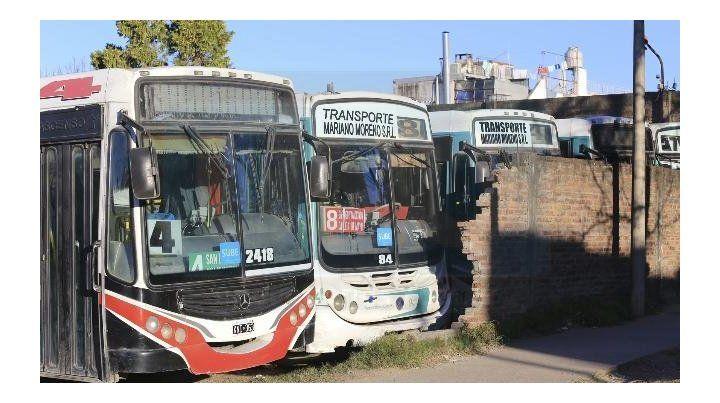 Se levantó el paro de colectivos en Paraná