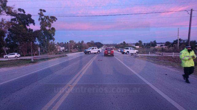 Accidente fatal en San Benito: no logran identificar a la víctima