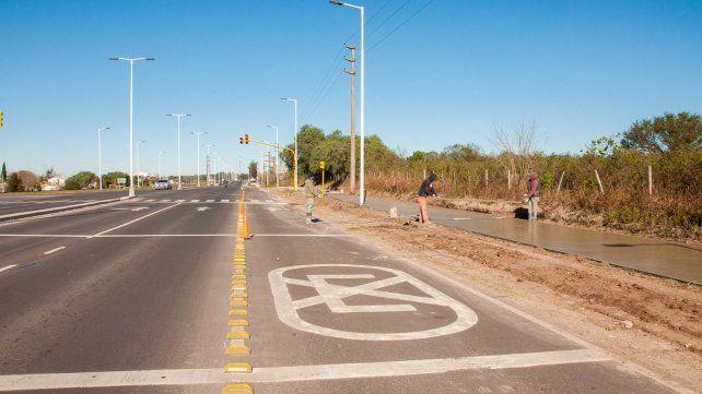 La doble vía Paraná - Oro Verde está en un 91%