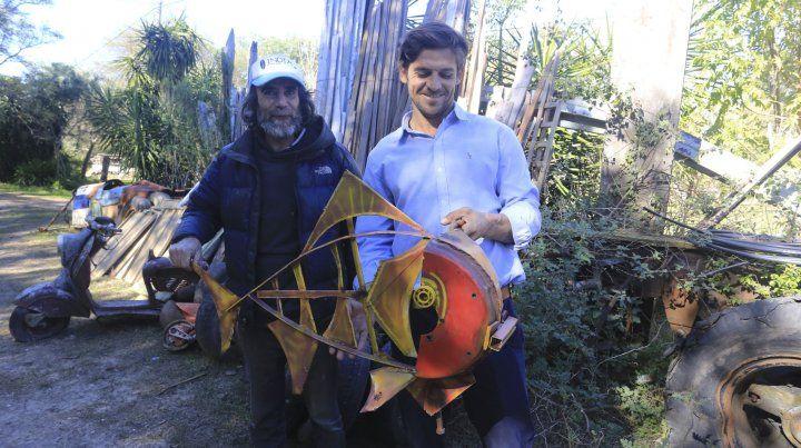 Pancho y Mony trabajan por el desarrollo del SUP