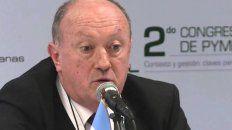 Pablo Villano. Presidente de la Asociación de Pequeñas y Medianas Empresas Lácteas.