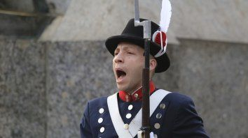 las fotos de los actos oficiales en el dia de la independencia
