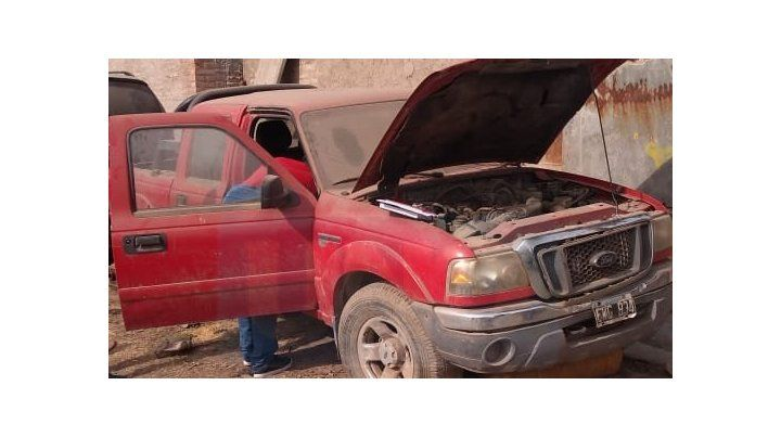 Encontraron la camioneta robada a un senador electo