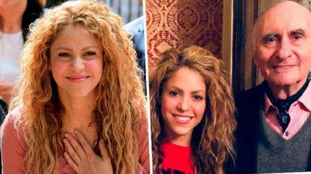 El cálido mensaje de Shakira por la muerte de Fernando de La Rúa: Seré siempre tu amiga