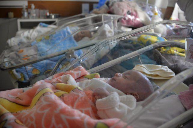 Los 4 gemelos nacieron sietemesinos y con 1.300 kg el 10 de mayo en Paraná