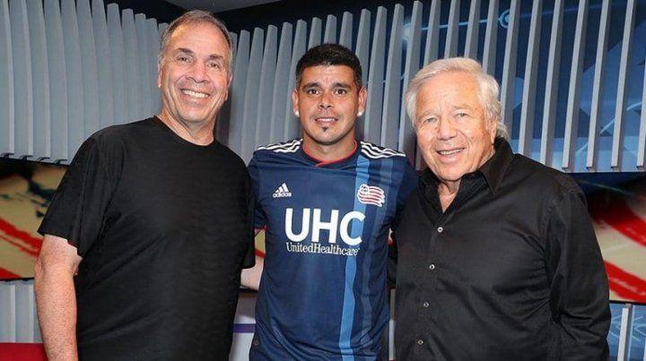 El entrerriano Gustavo Bou jugará en la MLS