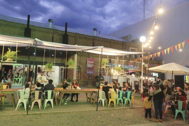 Otra fiesta popular en La Vieja Usina.