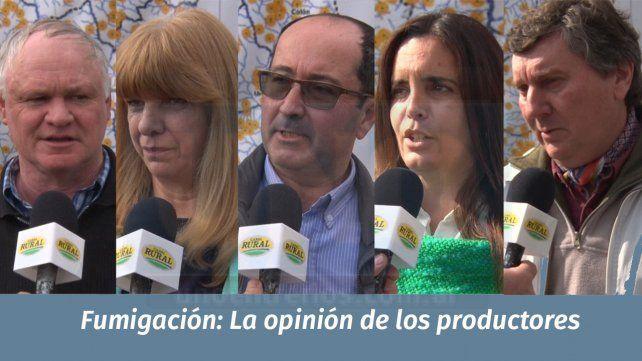 Los planteos de los productores fluctúan del pedido de diálogo a la queja para la tribuna
