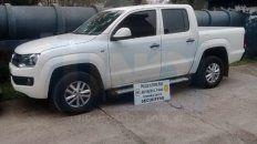 secuestraron la camioneta que choco y abandono a un joven