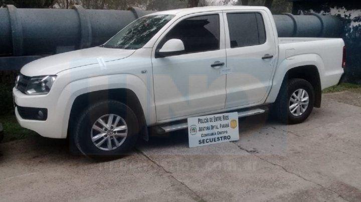 Secuestraron la camioneta que chocó y dejó tirado a un joven en Acceso Norte