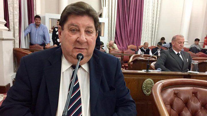 Kisser. El senador provincial es precandidato a senador nacional; y Leandro Arribalzaga