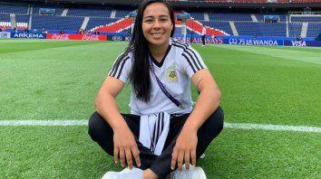Yael Oviedo, una concordiense de selección Nacional