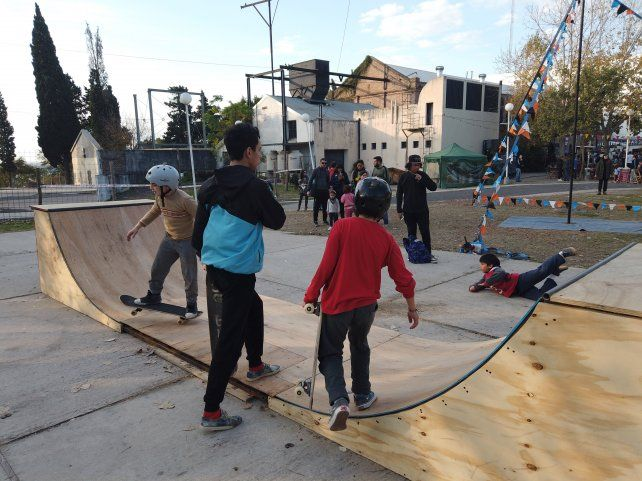Cultura sumó al skateboarding en La Vieja Usina.