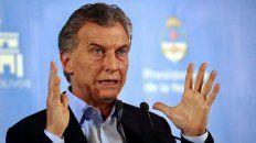 Para Macri, las retenciones deben desaparecer