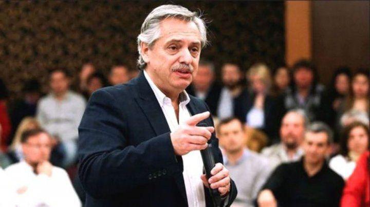 Alberto Fernández habló de la campaña sucia