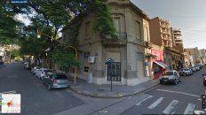 Edificio. La histórica construcción, en la captura del Google Maps.