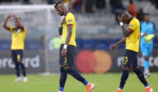Escándalo en la selección ecuatoriana