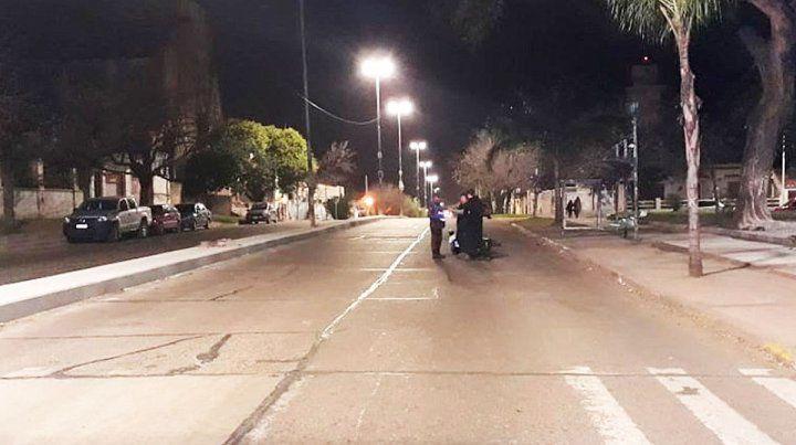 Motociclista chocó a dos monjas que cruzaban avenida Ramírez