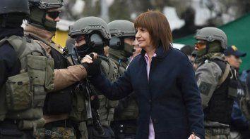 bullrich: con fernandez va volver la inseguridad y el narcotrafico
