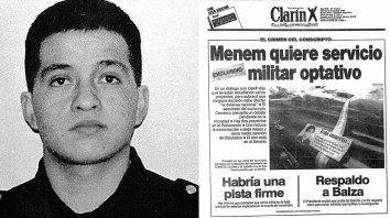 Carrasco, el caso que terminó con el servicio militar